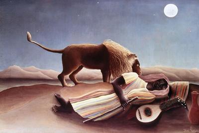 The Sleeping Gypsy, 1897