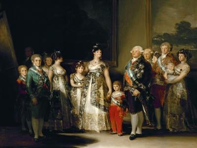 Charles Iv's Family, 1800, Spanish School