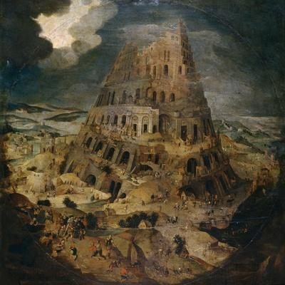 Construction of the Tower of Babel, Ca. 1595, Flemish School