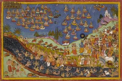 Rama Enters Heaven