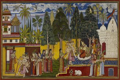 Hanuman in the Ashoka Grove