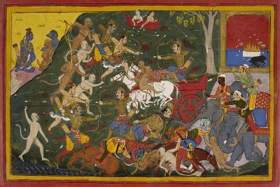 Ramayana, Yuddha Kanda