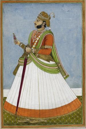 Portrait Of Maharaja Jagat Singh Of Jaipur (R.1803-1818)