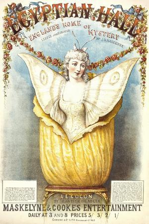 The Cocoon Illusion Presented by Buatier De Kolta at the Egyptian Hall