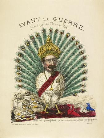 French Caricature - Avant La Guerre