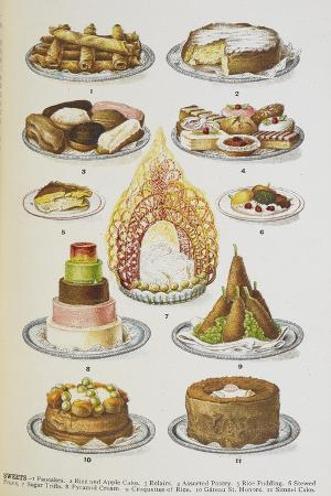 Assorted Cakes and Desserts