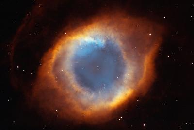 Iridescent Glory of Nearby Helix Nebula Space