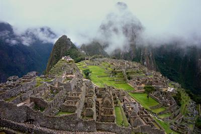 Machu Picchu Peru Photo Poster