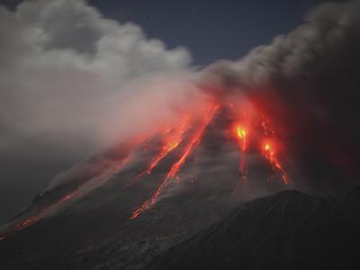 Soufriere Hills Eruption, Montserrat Island, Caribbean