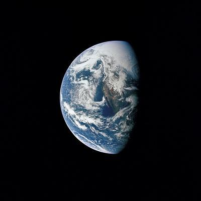 View of Earth Taken from the Apollo 13 Spacecraft