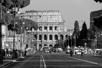 Colosseum in Rome, Italy Photo Poster