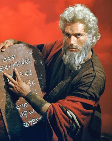 Charlton Heston - The Ten Commandments