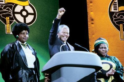 Nelson Mandela, London 1990
