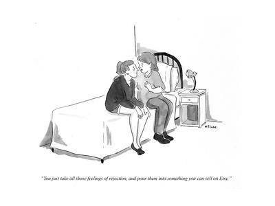 """""""You just take all those feelings of rejection and pour them into somethin…"""" - Cartoon"""