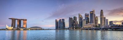 Singapore, Marina and City Skyline