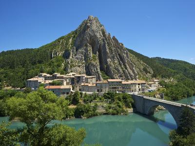 Sisteron, Provence, Provence-Alpes-Cote D'Azur, France