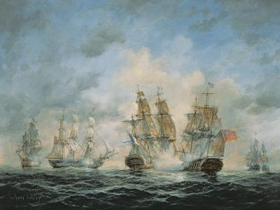 19th Century Naval Engagement in Home Waters