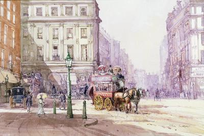 Piccadilly Circus Towards Regent Street, C.1893