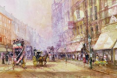 Victorian Afternoon, Regent Street, C.1885