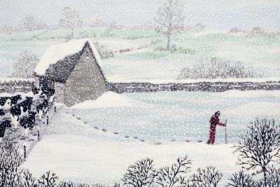 Cotswold Farm in Winter