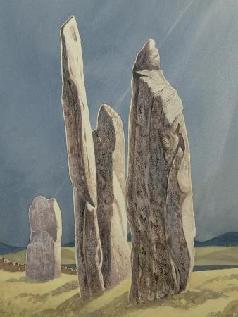 Tall Stones of Callanish, Isle of Lewis, 1986-7