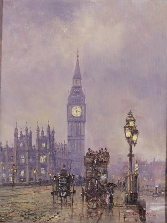 Late Afternoon, Westminster Bridge