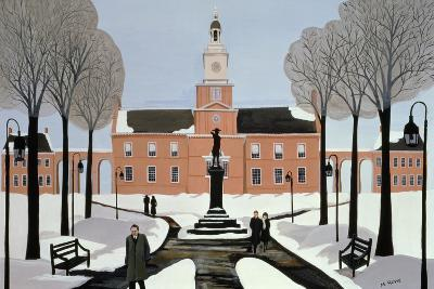 Philadelphia in the Snow