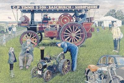 Traction Engines at the Show, 1993