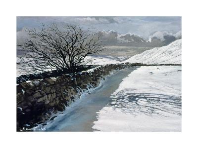 Snow Above Barbondale, Barbon, Nr Kirby Lonsdale, Cumbria