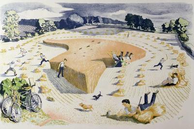 Harvesting, Printed at the Baynard Press, for School Prints Ltd.
