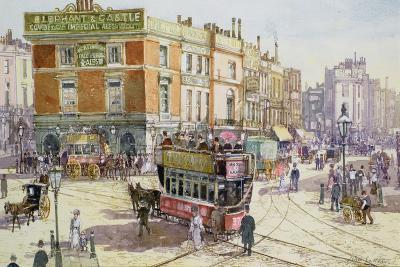 Elephant and Castle, C.1890