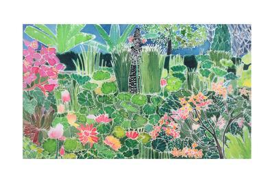 Lotus Pond, Ubud, Bali, 1997