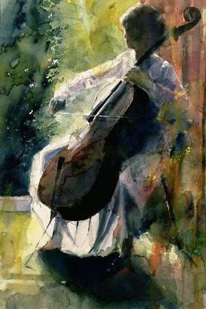 Anna Playing the Cello