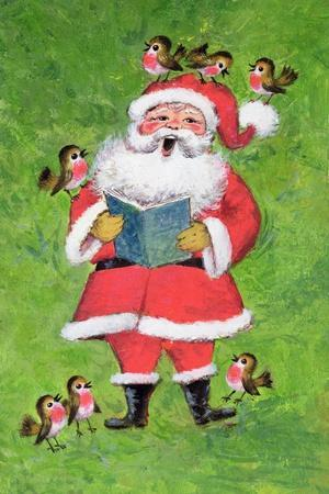 Father Christmas and Robin Chorus