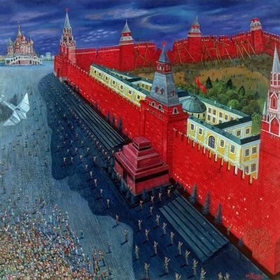 Red Square, 1988