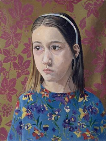 Painting of a Young Girl, 1993