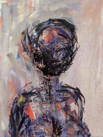 Iman, Left Hand Panel of Diptych, 2000