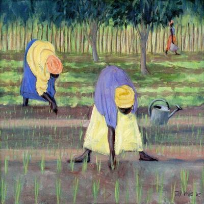 Women Gardening, 2005