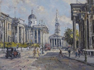 The National Gallery - Trafalgar Square in About 1920, 2008
