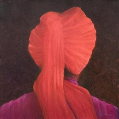 Red Turban in Shadow