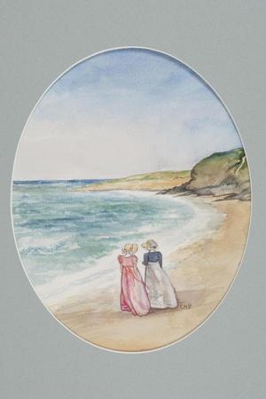 Anne and Henrietta Stroll Down to the Sea, 2006