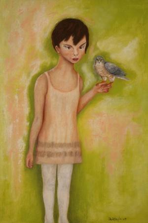 Trust-Girl with a Sparrow Hawk, 2010