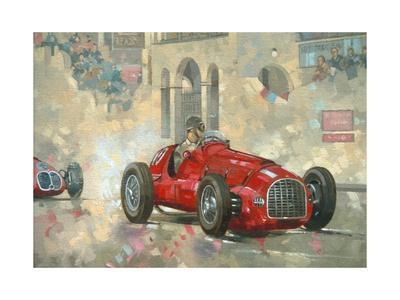 Whitehead's Ferrari Passing the Pavillion, Jersey