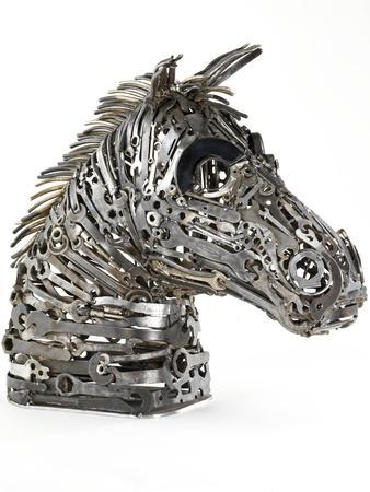 Warhorse (Metal, Spanners, Tools and Found Objects)