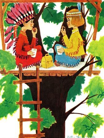 Treehouse Lunch - Jack & Jill