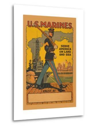 U.S. Marines, Serve America on Land and Sea