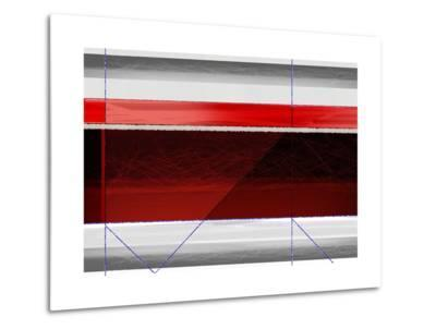 Abstract Red and Brown