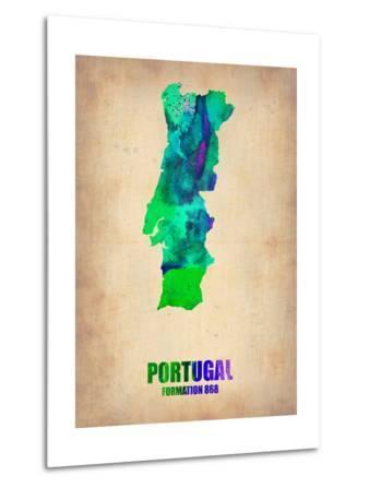 Portugal Watercolor Map