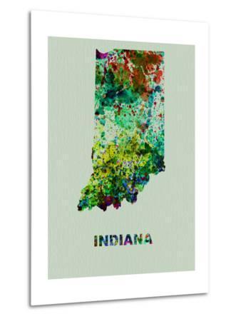 Indiana Color Splatter Map