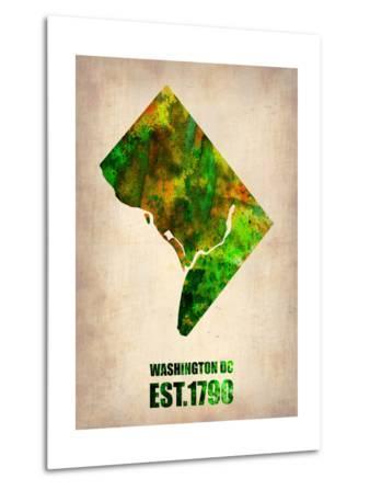 Washington Dc Watercolor Map